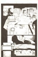 X-Men #1 p.20 - 2013 Signed Comic Art