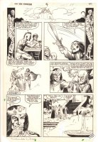 Kull the Conqueror #44 p.48 - Framing Story End Page - Zombies - 1984 Signed Comic Art