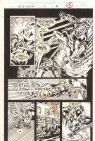 Web of Spider-Man #123 p.3 - Scarlet Spider vs. Jackal - 1995  Comic Art