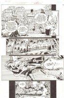 Sonic the Hedgehog #237 p.6 - Princess Mecha Sally Action - 2012 Signed Comic Art