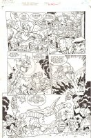 Sonic the Hedgehog #240 p.12 - Team Freedom Action - 2012 Signed Comic Art