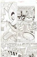 Sonic the Hedgehog #240 p.2 - Dr. Robotnik's Ship Crashes -  2012 Signed Comic Art