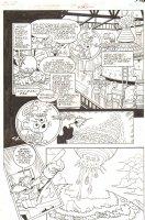Sonic the Hedgehog #240 p.3 - Dr. Robotnik -  2012 Signed Comic Art