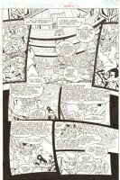 Sonic the Hedgehog #241 p.13 - Geoffrey St. John and Ixis Naugus at Rock Concert - 2012 Signed Comic Art