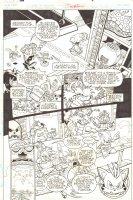 Sonic the Hedgehog #241 p.2 - Dr. Eggman Robotnik - Sonic, Amy Rose, & Tails - 2012 Signed Comic Art