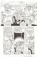 Sonic the Hedgehog #241 p.7 - Ixis Naugus, Max, & Lady Alicia - 2012 Signed Comic Art