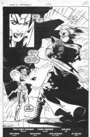 Legion of Super-Heroes #43 - End pg. splash - 1992 Comic Art