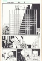 Amazing Spider-Man #555 p.8 - Web-Slinging Splash - 2008  Comic Art