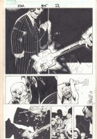 Amazing Spider-Man #575 p.12 - Brand Splash - 2008  Comic Art