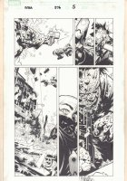 Amazing Spider-Man #576 p.5 - Spidey Rescue - 2009 Signed Comic Art