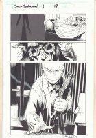 Dark Reign: Sinister Spider-Man #1 p.17 - General Wolfram and Redeemer Splash - 2009 Signed Comic Art