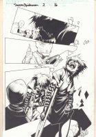 Dark Reign: Sinister Spider-Man #2 p.16 - Eleven - 2009 Signed Comic Art
