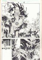 Amazing Spider-Man: Extra! #2 p.4 - Venom - 2009 Signed Comic Art