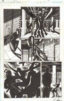 Batman Beyond #8 pg 17 -  Comic Art