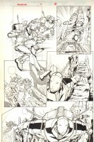 Spaceknights #2 pg 15 - ROM - Signed Comic Art