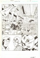Booster #34 pg 21 - Mr. Miracle, (Kirby's 4th World)  Comic Art