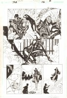 JLA #116 p.10 - Awesome Catwoman Action - 2005 Comic Art