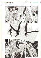 Hawkman #49 p.10 - Hawkman, Hawkgirl, & Adam Strange - 2006 Signed Comic Art