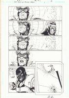 The Last Days of Animal Man #1 p.6 - Animal Man vs. Bloodrage - Signed Comic Art