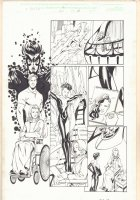 Thunderbolts #66 p.7 - Jolt - 2002 Signed Comic Art