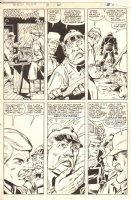 Ghost Rider #61 p.5 - Johnny Blaze - 1981 Comic Art