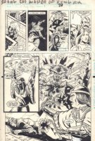 Master of Kung Fu: Bleeding Black #1 p.72 - Chapter 9 - Action vs Monster - 1990  Comic Art