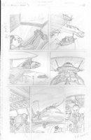 Skull & Bones #3 p.27 - Main Characters - Signed Comic Art