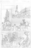 Skull & Bones #3 p.7 - Fall of the Soviet Union - 1983 - Signed Comic Art