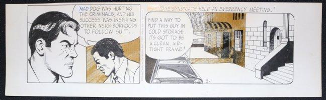 Big Ben Bolt Daily Strip - 2/1/1975  Comic Art