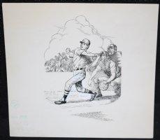Baseball Art p.2 - At Bat Comic Art