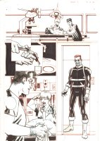 Blade #1 p.13 - Blade Hunting Lab Workers turned Vampires - 2006 Signed Comic Art
