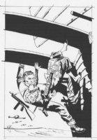 Johnny Hazard #1 Cover 1988 Comic Art