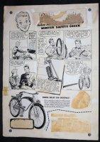 Bike Advertisement - LA - Signed Comic Art