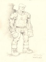 The Goon Pencil Art - Homage to Eric Powell - 2012 Signed Comic Art