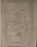 Happy New Year Nude Babes Sitting on Face Playboy Gag Prelim - Signed  Comic Art