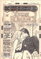 Young Romance #184 Cover - 'Goodbye, My Lady Love!' - 1972  Comic Art