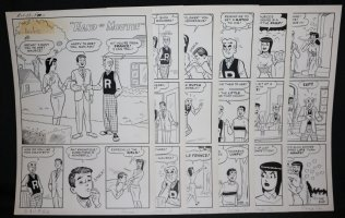 Archie's Girls Betty and Veronica #53 Complete Six Page Story - LA - 'Hand to Mouth!' - 1960 Comic Art