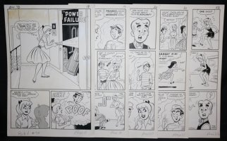 Archie's Girls Betty and Veronica #73 Complete Five Page Story - LA - 'Power Failure' - 1962 Comic Art