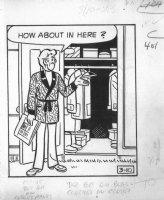 Archie 3/10/?? (70's) LA Daily - Veronica - Signed Comic Art