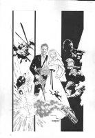 A-Team: Shotgun Wedding #4 Cover - 2010 Comic Art