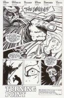 Nexus #67 p.1 - Title page splash - 1990 Signed Comic Art