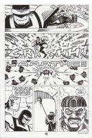 Nexus #67 p.15 - Nexus Action - 1990 Signed Comic Art