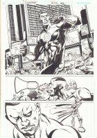 JLA: Classified #35 p.13 - Green Lantern John Stewart Splash - 2007  Comic Art