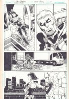 Green Arrow #4 p.20 - Arrow and Babe - 2012  Comic Art