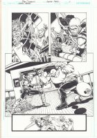 Green Arrow #1 p.1 - Arrow Action - 2012  Comic Art
