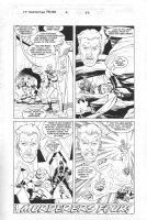 Fantastic Four: Domination Factor #2 p.22 - Bob doing his best Joe Sinnott - 1999 Signed Comic Art