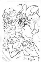 Archie Sleeping Beauty Cover - (Betty and Veronica) - signed Comic Art