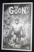 The Goon Print - 2009 Signed  Comic Art
