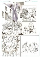 Action Comics #857 p.21 - Bizarro Brainiac - 2007 Comic Art