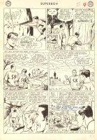 Superboy #117 p.4 - LA - Good Superboy Super Action Panel - 1964 Comic Art